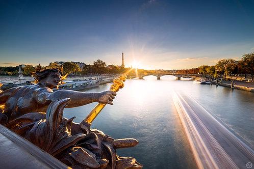 Golden way, Paris