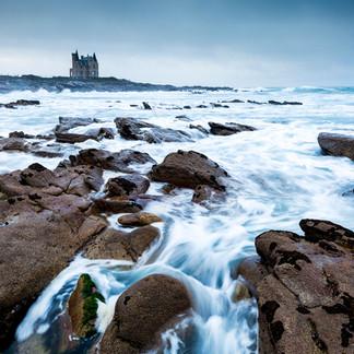 Chateau Turpault, Quiberon, Bretagne  Retrouvez cette photo dans le SHOP :
