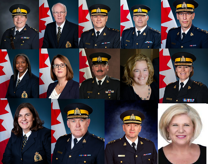 Image of leadership of the RCMP