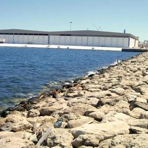Construction of New Marine Terminal Quay Wall