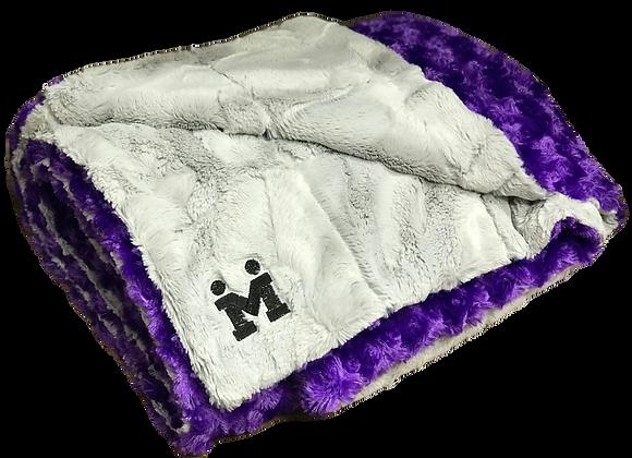 10LB Luxie Purple/Silver