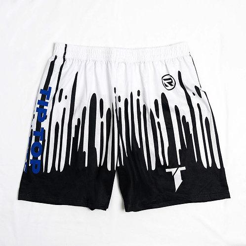 Black Drip Shorts