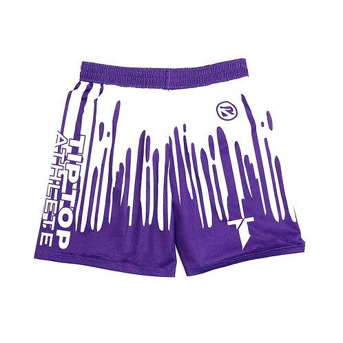 Purple Drip Shorts