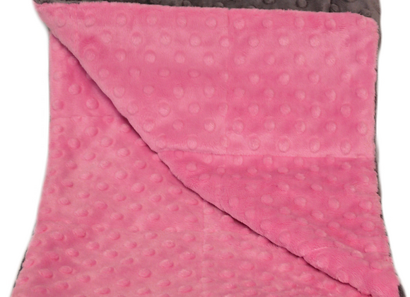 Moxie Pink 7LB Weighted Blanket
