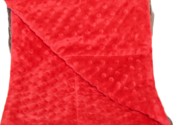Moxie Red 5LB Weighted Blanket