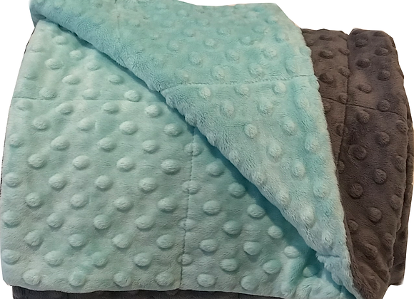 5LB Mint Green Weighted Blanket