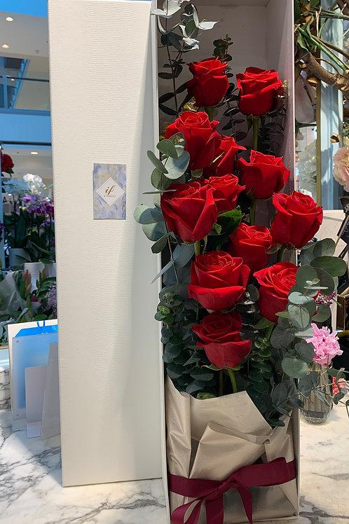 Long Rose Box(Red)