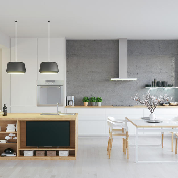 Küchen Silikon Fugen