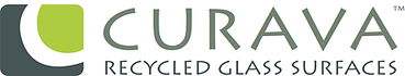 Curava Recycled Glass Surface Certified fabricator