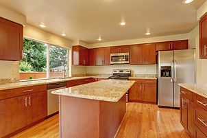 Granite Countertops in Traditional Kitchen