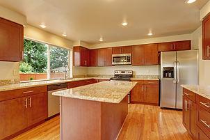 Granite Countertops in Traditional Kitchen