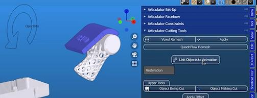 Articulator &  Dynamic Adjustments - Process 2