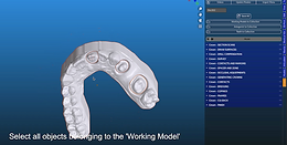 3. Drawing the Surfaces - Using margins derived from the Model Designer Module