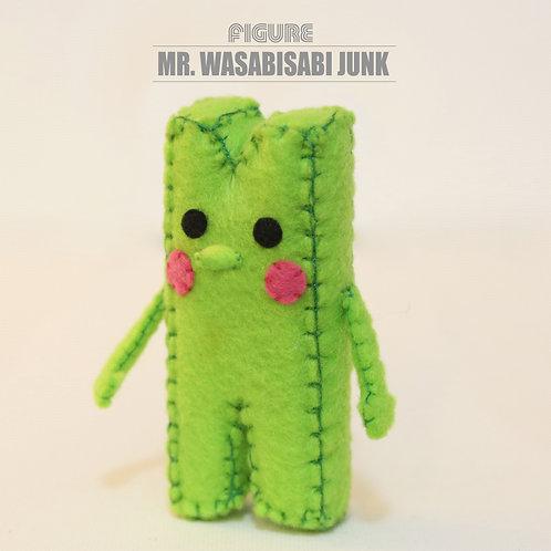 Mr. Wasabisabi Junk Handmade Figure