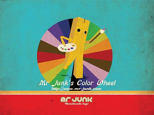 《Mr Junk's Travel Journal》☆薯寶旅人兒童繪本☆