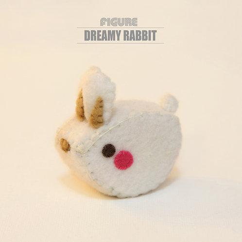 Dreamy Rabbit Handmade Figure