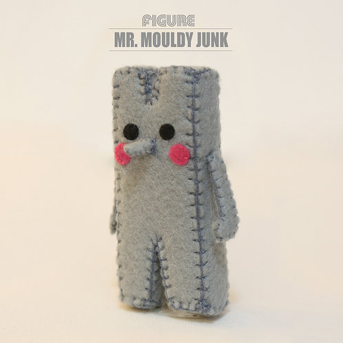 Mr. Mouldy Junk Handmade Figure