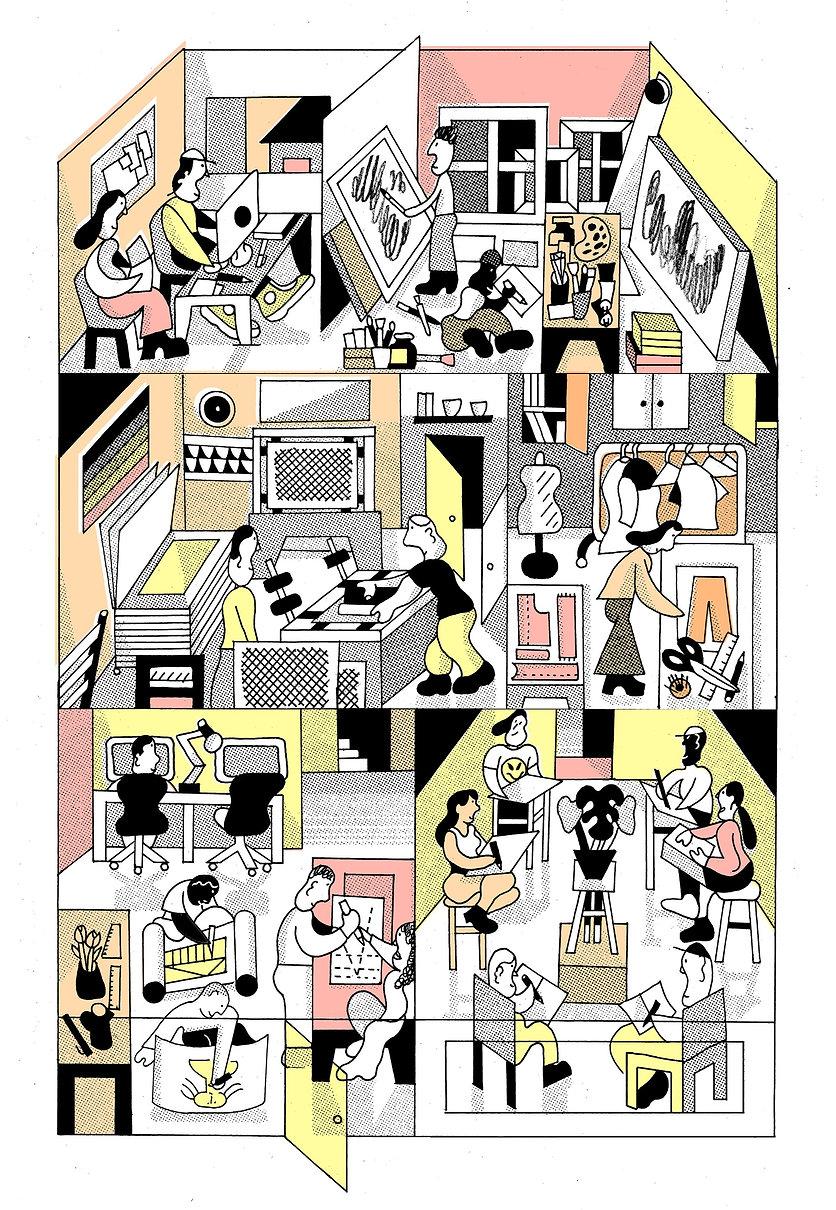 Bo Matteini UAL Alumni Illustration