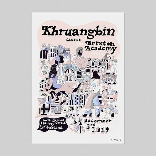 Khruangbin Live - A2 Poster
