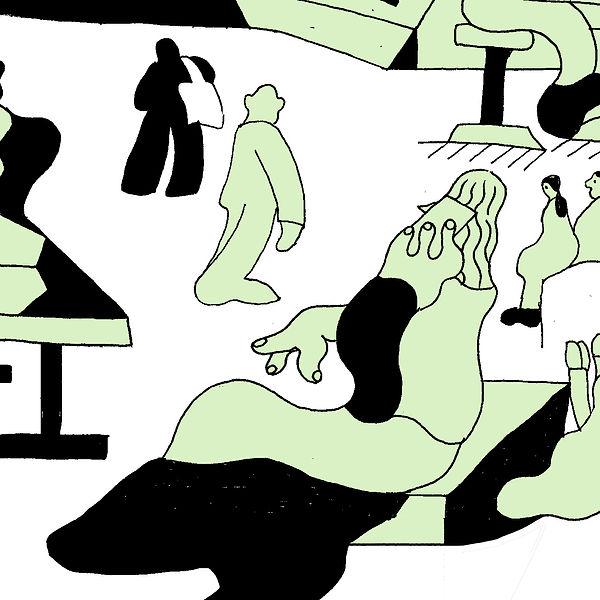 Bo Matteini Sketchbook Illustration map 2 barbicanjpg