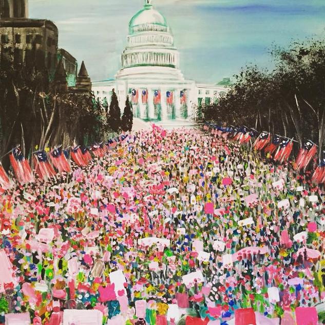 Women's March $1,600.00
