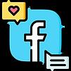 Social Media Facebook Ads Copywriter Icon