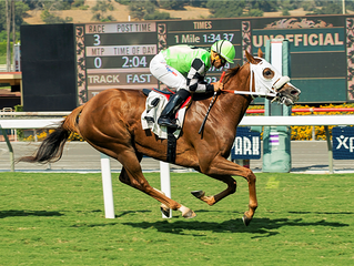 How Unusual Sets The Santa Anita Turf on Fire