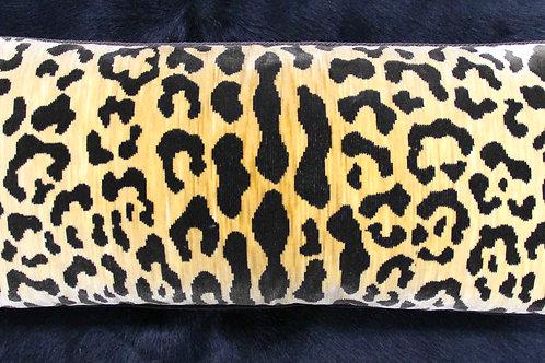 Leopard Style Kidney Pillow