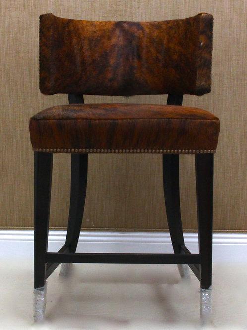 Single Cowhide Bar Chair