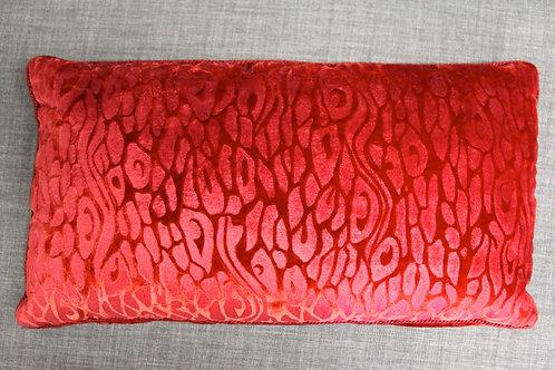 Red Velvet Kidney Pillow