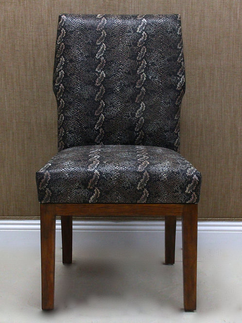 Side Chair in Stamp Vinyl
