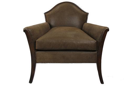 Single Italian Chair with Board Print Swede
