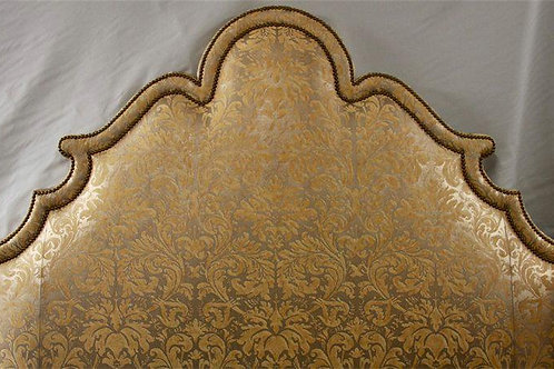 California King Headboard in Fortuni Fabric