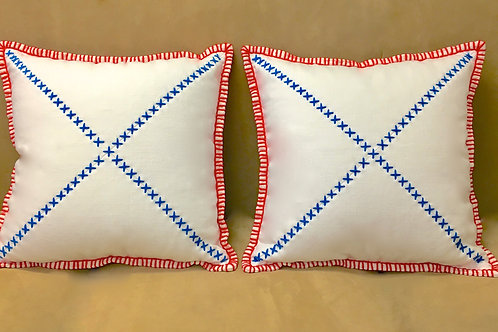 Mini-Red Edged__INDEPENDENCE Pillows