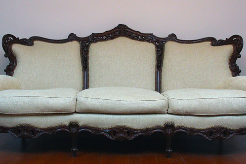 French Dining Room Set-Sofa & 2 Chairs