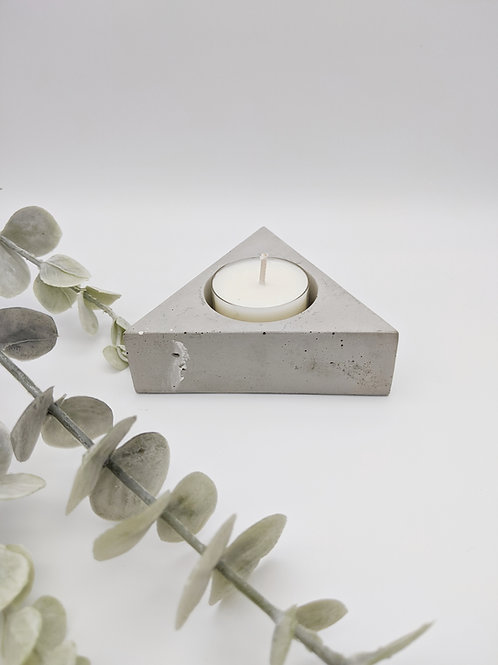 Triangular Tea Light Candle Holder