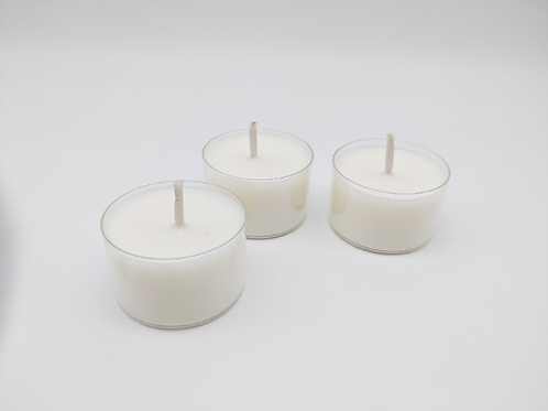 Pack of6 Hand Poured Soy Wax Tea Light Candles