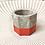 Thumbnail: Rainbow painted Concrete Tea Light Container Candle Set