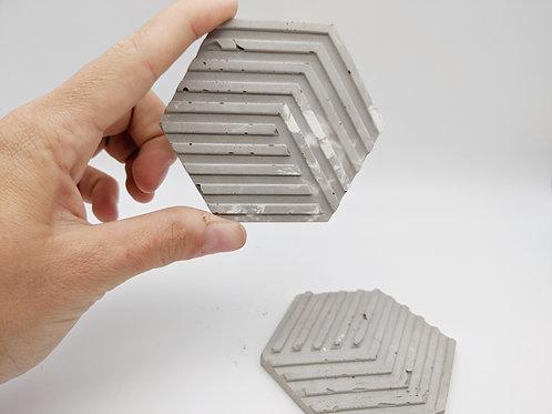 Concrete Coaster Set