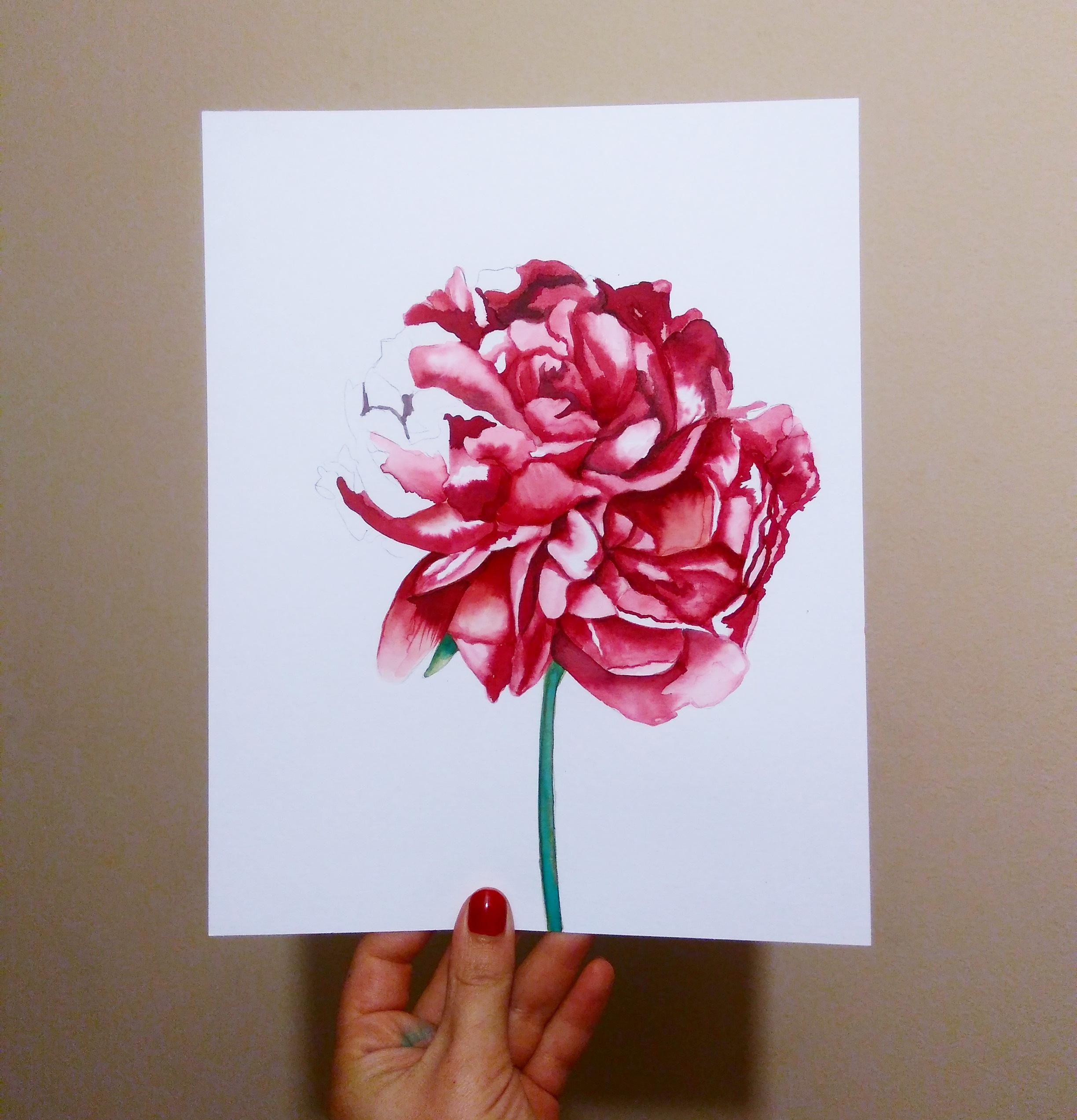 Tinta sobre papel