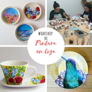 Workshop de Pintura en loza