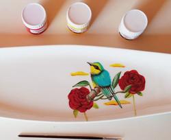 Pintura en loza