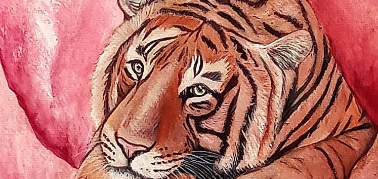 Tigre del cuarzo rosa