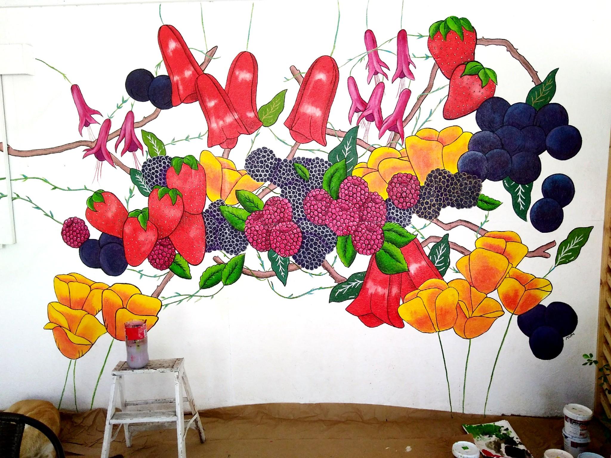 """Mural Cafetería """"Amasa Bakery"""""""