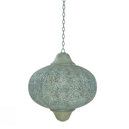 lámpara techo marroqui