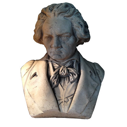 busto piedra Beethoven 34x20x43h