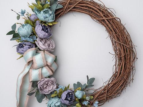 Cool Colors Wreath