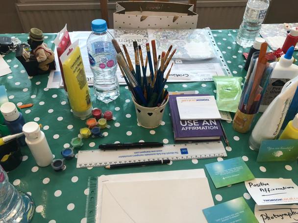 Therapeutic Art Session