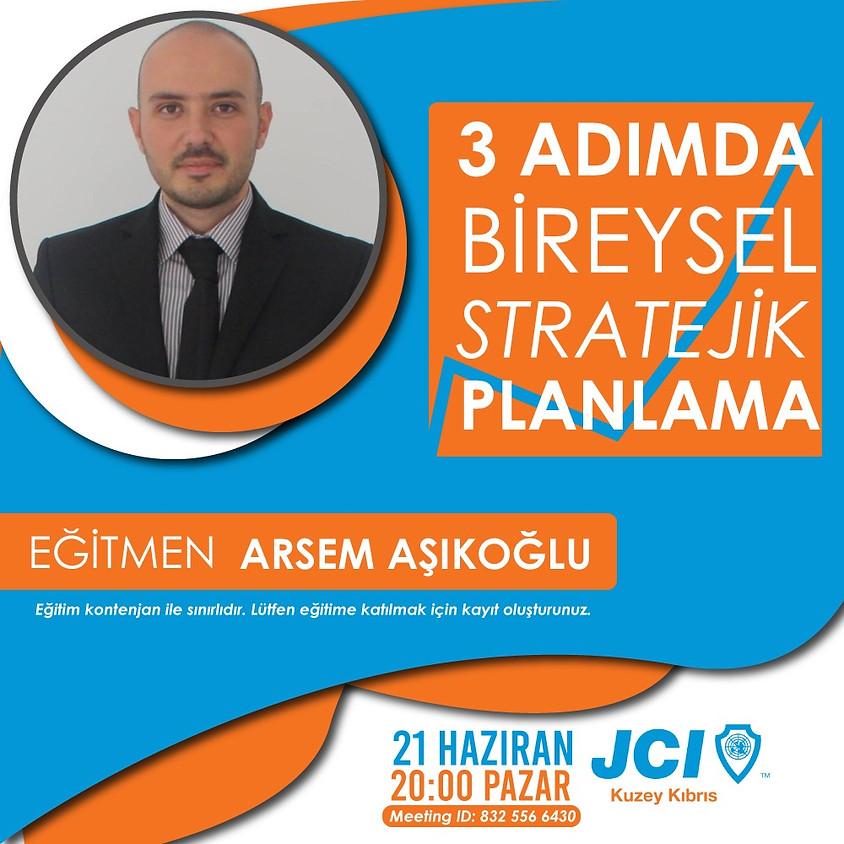 JCI Kuzey Kıbrıs | 3 Adımda Bireysel Stratejik Planlama