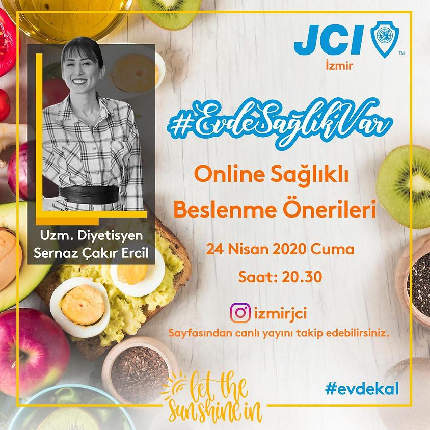 JCI İzmir | Online Sağlıklı Beslenme Önerileri